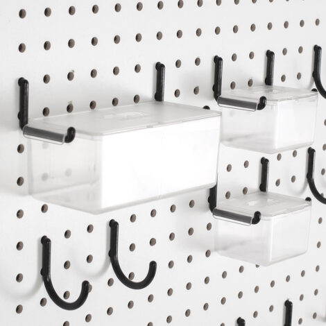 Pegboard Storage Container Lids