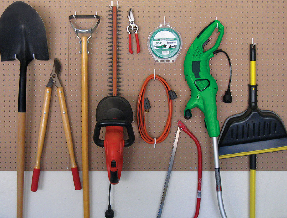 Pegboard Organization Ideas Functionaire 174 Locking
